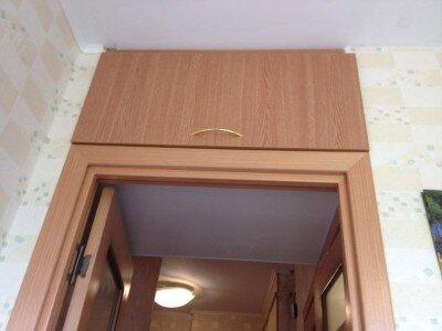Как сделать антресоли над дверью